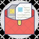 Documents Files Catalogs Icon