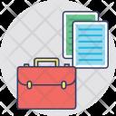 Documents Portfolio Business Icon