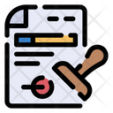 Documents Legal Contract Icon