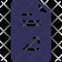 Documents File Graph Icon