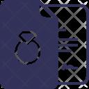 Documents File Jewel Icon