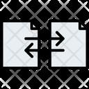 Documents Exchange Files Icon