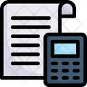 Documents and calculator Icon