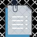 Documents Attachment Icon