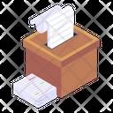 Documents Box Icon