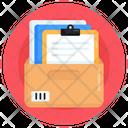 Files Rack Documents Rack Documents Case Icon