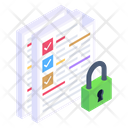 Safe Docs Documents Protection Documents Security Icon