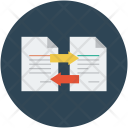 Documents With Arrows Icon