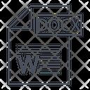 Docx Docx Document Icon