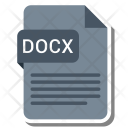 Docx File Format Icon