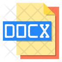 Docx File File Type Icon