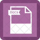 Docx File Extension Icon