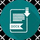 Docx Extension Document Icon