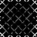 Dodekaeder polyhedron Icon