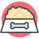Dog Food Pet Icon