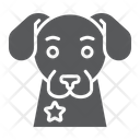 Police Dog Guard Icon