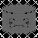 Dog Food Canine Icon