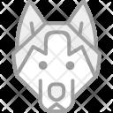 Dog Wolf Animal Icon