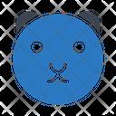 Dog Toy Face Icon