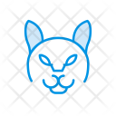 Dog Animal Clown Icon