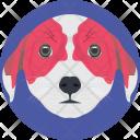 Dog Face Head Icon