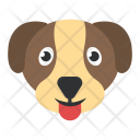 Foxhound Dog Face Icon