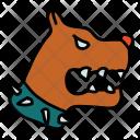 Dog Dangerous Icon