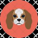 Dog Puppy Face Icon