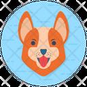 Animal Mascot Dog Head Dog Mascot Icon