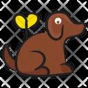 Domestic Animal Dog Pet Icon