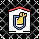 Dog Guard Color Icon