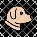 Dog Face Pet Icon