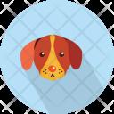 Dog Head Bulldog Icon
