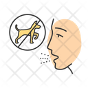 Dog Allergy Allergic Icon
