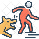 Dog Bites Attack Icon