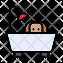 Bath Dog Tub Icon