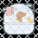 Dog Bathtube Dog Bath Dog Icon