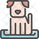 Dog Bed Pet Icon