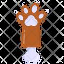 Paw Bone Dog Bone Bone Icon