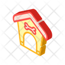 Booth Dog Isometric Icon