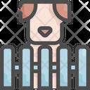 Dog Cage Pet Icon