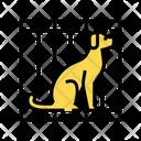 Dog Cage Color Icon