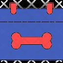 Dog Calendar Icon