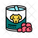 Dog Canned Food Icon