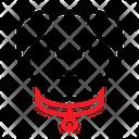 Dog Collar Belt Label Icon