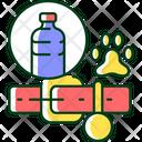 Plastic Collar Dog Icon