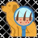 Dog Dermatology Icon