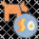 Ketogenic Diet Dog Icon