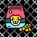 Dog Dry Food Icon