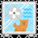 Dog Dryer Icon
